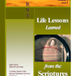 LIFE LESSONS - Learned from the Scriptures