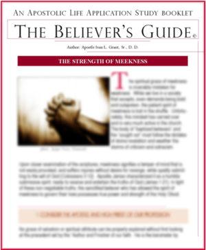 Building Spiritual Character