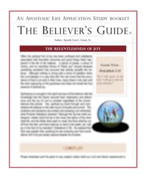 The Relentlessness of Joy